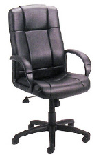 Boss Black Caressoft Executive Chair