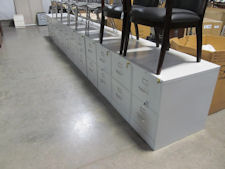 Used Hon 2-drawer Legal Size Files w/ lock