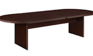 DMI Fairplex 10' Oval Conference Table - Available in Mocha (shown). Mahogany, Walnut or Cognac Cherry Finish.