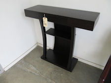 Coaster Cappuccino Entry Table