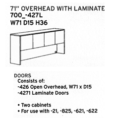 DMI Fairplex 71 Overhead With laminate