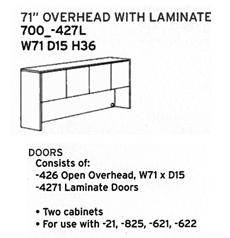 DMI Fairplex 71 Overhead With laminate