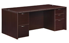 "DMI Fairplex Executive Desk - 36"" x 72"""