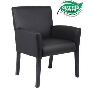 Boss Black Guest Chair