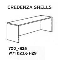 Credenza Shells