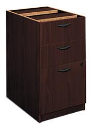 Hon Basyx Mahogany Box/File Pedestal