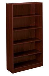 """Hon Basyx Mahogany 65"""" Bookcase"""