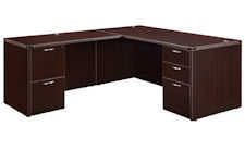 DMI Fairplex Standard Size L-Shape Desk