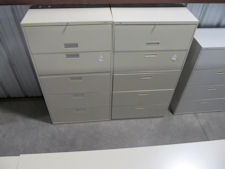 Used Hon 5-drawer Lateral Files
