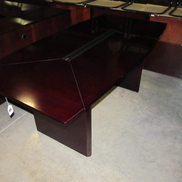 home used furniture tables used wood veneer mahogany color 6